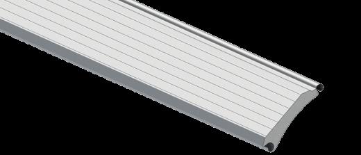 Profilé en acier d'une porte industrielle enroulable R1SD
