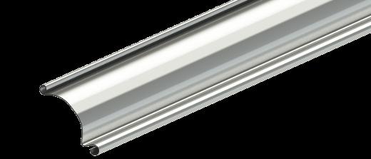 Profilé en acier d'une porte industrielle enroulable R1SS
