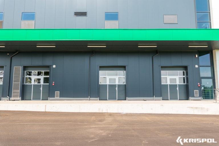Exemple de porte industrielle sectionnelle (14)