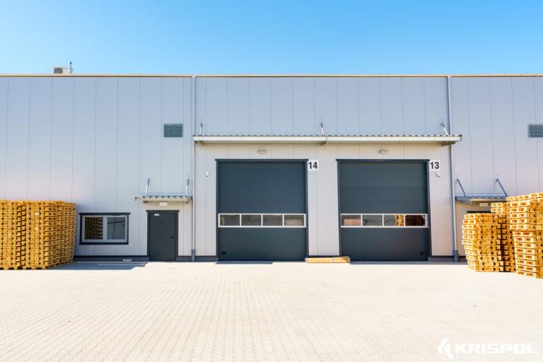 Exemple de porte industrielle sectionnelle (9)