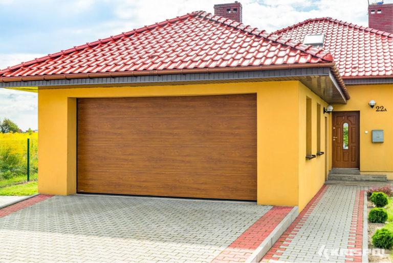 Exemple porte de garage sectionnelle 2