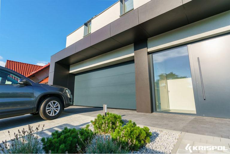 Exemple porte de garage sectionnelle 6