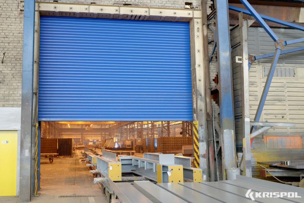 Exemple porte industrielle enroulable (2)