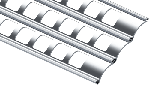 Grillage enroulable en aluminium R2 AM