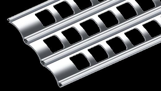 Grillage enroulable en aluminium R2 AMZ