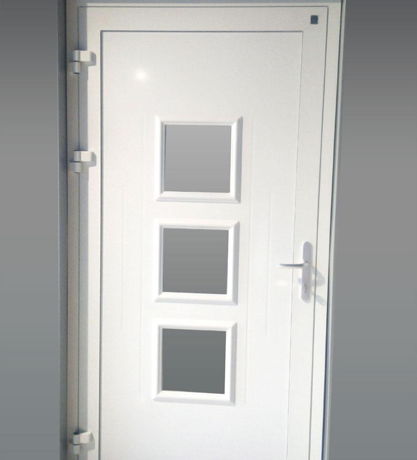 Porte d'entrée aluminium Top Line