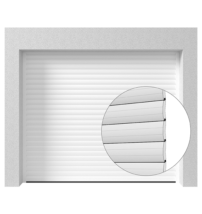 Porte de garage enroulable RGW