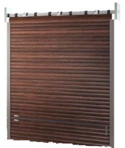 Exemple de porte de garage enroulable 2